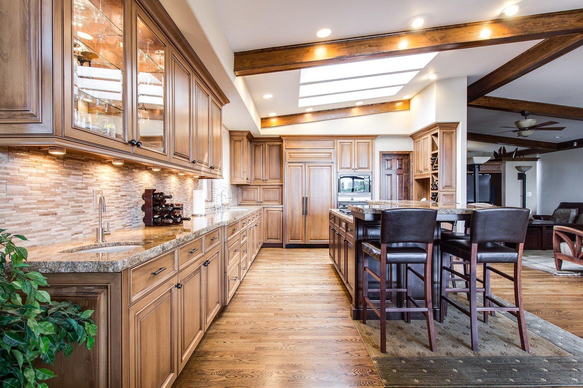 Kuchyň obývací poko