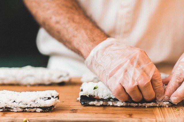 vaření v rukavicích