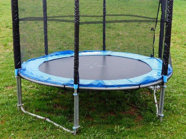trampolina s ochranou