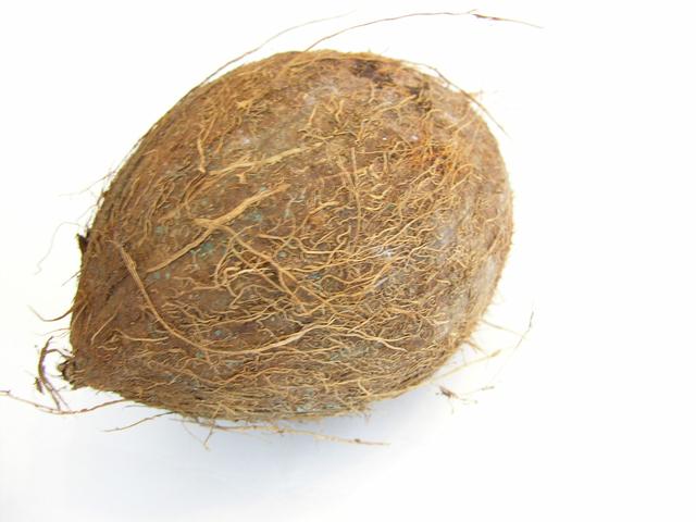 zralý kokosový ořech