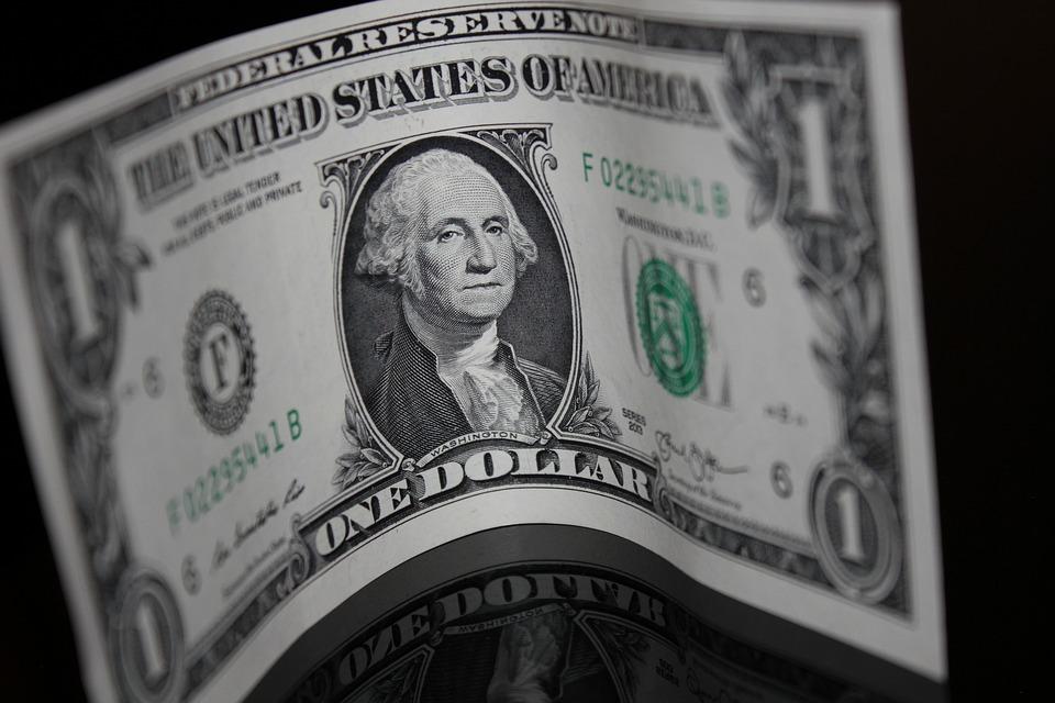 ohnutý dolar