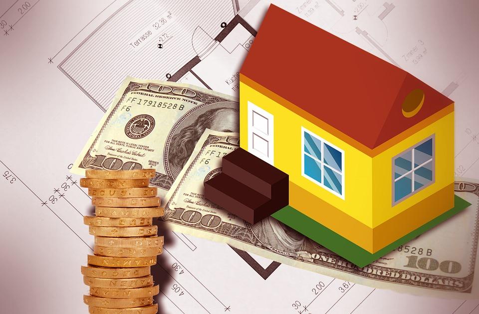peníze a dům