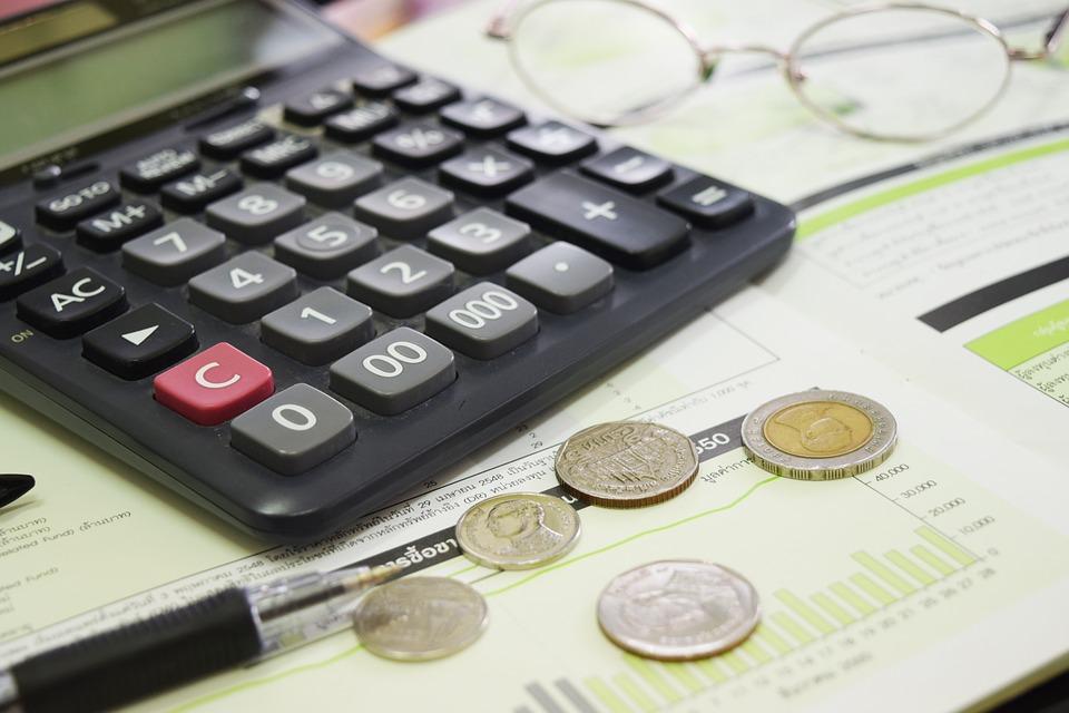 počítání peněz
