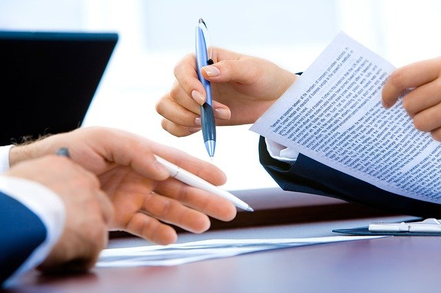 podpis smlouvy