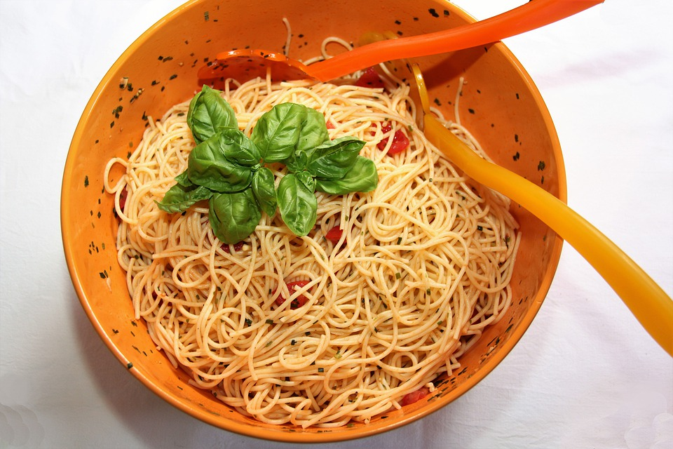 zdravé špagety